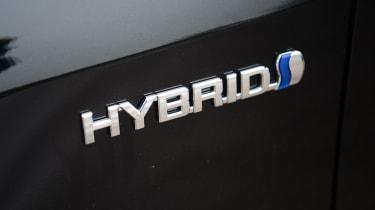 Suzuki Swace hybrid badge