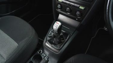 Skoda Octavia Scout - gearstick