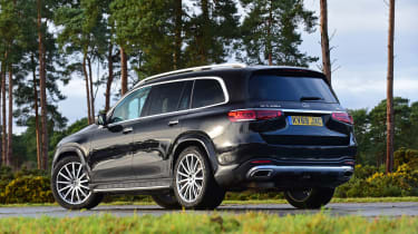 Mercedes GLS - rear static