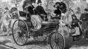 Benz Patent-Motorwagen Model 3