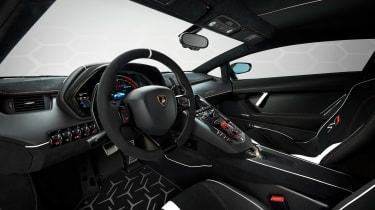 Lamborghini Aventador SVJ 63 - dash
