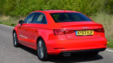 Audi A3 Saloon rear action