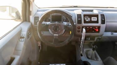 Nissan Frontier Desert Runner - dash