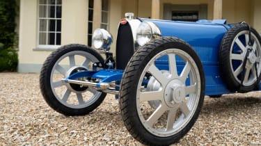 Bugatti baby Type 35 - front