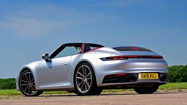 Porsche 911 Cabriolet - rear static
