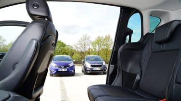 Ford B-MAX - rear seats