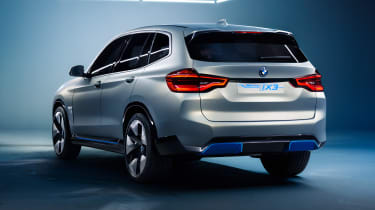 BMW iX3 - rear