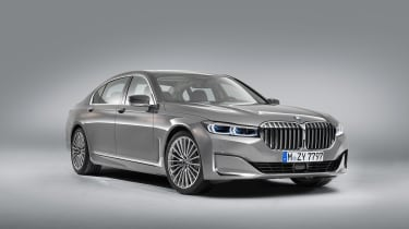 BMW 7 Series facelift - front studio