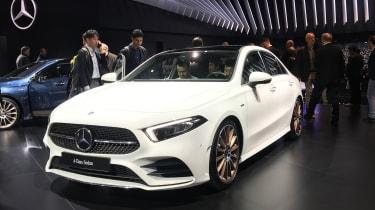 Mercedes A-Class Saloon - Paris - Front