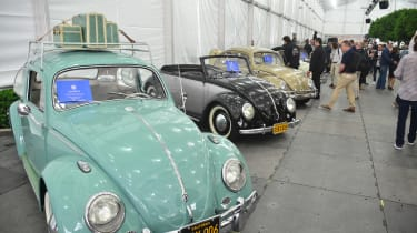 VW Beetle breakfast - LA Motor Show