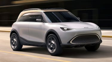 Smart SUV concept - front
