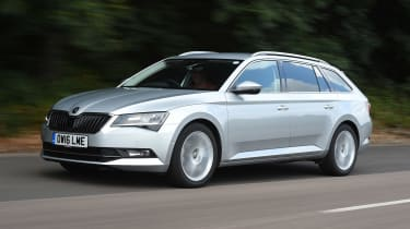 Skoda Superb Estate - front