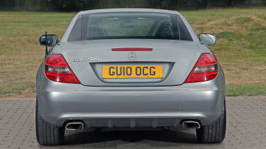 Used Mercedes SLK - full rear