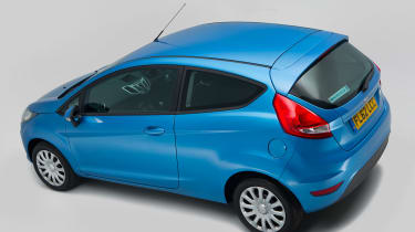 Ford Fiesta (used) - above