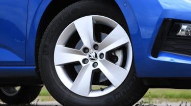 Skoda Scala wheel