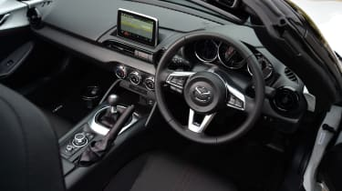 Long-term test review Mazda MX-5 - interior
