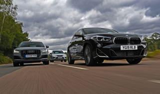 BMW X2 vs Audi SQ2 vs Cupra Ateca
