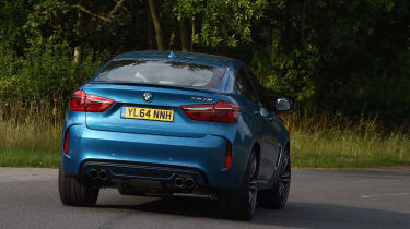 The X6M's engine and drivetrain are also available in the X5.