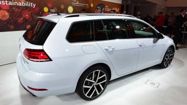 New 2017 Volkswagen Golf estate reveal - rear