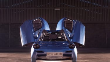 Riversimple Rasa - doors open