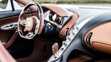 Bugatti Chiron Super Sport - dash