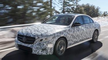 Mercedes E-Class development car front