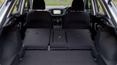 Volkswagen T-Roc - boot seats down