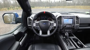Ford F-150 Raptor pick-up truck - interior