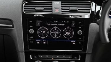 Volkswagen Golf R Performance Pack - lap timer
