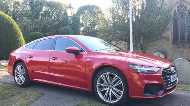 Audi A7 Sportback - Side Parked