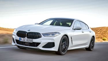 BMW 8 Series Gran Coupe - front
