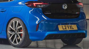 Vauxhall Corsa VXR - rear detail (watermarked)