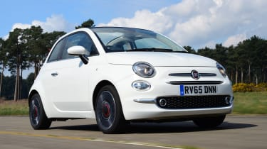 Fiat 500C 2016 - front tracking