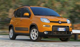 Fiat Panda Trekking front cornering