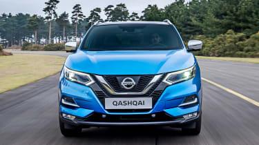 New Nissan Qashqai facelift - full front