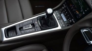 Porsche 718 Boxster 2016 - centre console