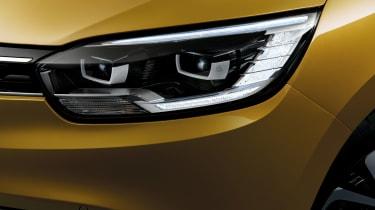 Renault Scenic - front light detail
