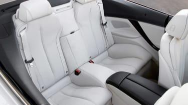 BMW 6 Series Convertible rear seats