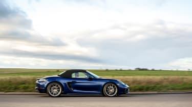 Porsche Boxster GTS 4.0 PDK side