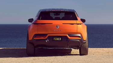 Fisker Ocean - full rear
