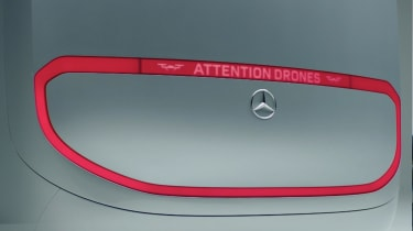Mercedes Vision Van - video rear light