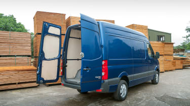 Each Crafter is built with a 1,300mm sliding side door.