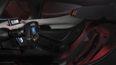 NextEV NIO EP9 electric hypercar - seats
