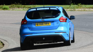 Ford Focus RS - rear action
