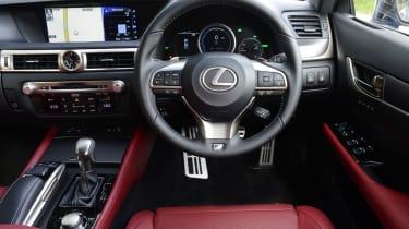 Lexus GS 450h F Sport - dash