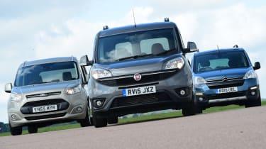 Fiat Doblo vs Citroen Berlingo vs Ford Tourneo Connect - header 2