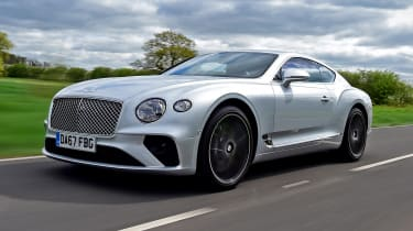 2018 Bentley Continental GT - front