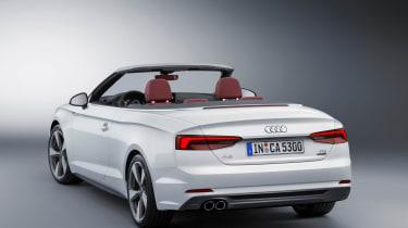 New Audi A5 Cabriolet 2017 rear studio