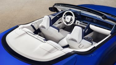 Lexus LC Convertible - interior static