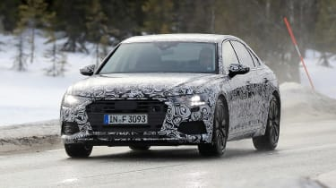 Audi A6 2018 spies front